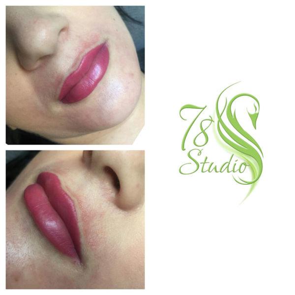 Makijaż permanentny - usta