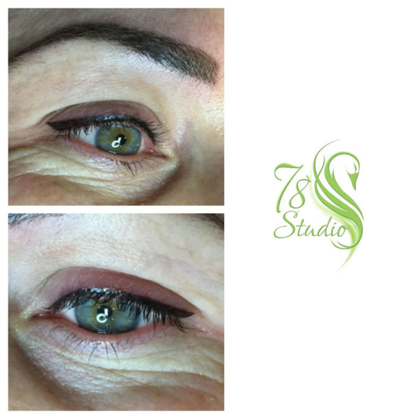 Makijaż permanentny - kreska górna